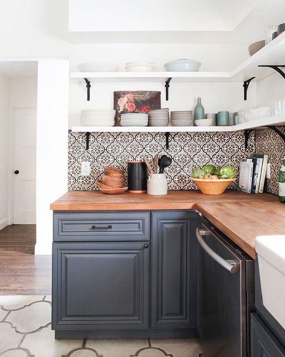 Kuchyne s otvorenými poličkami - Obrázok č. 27