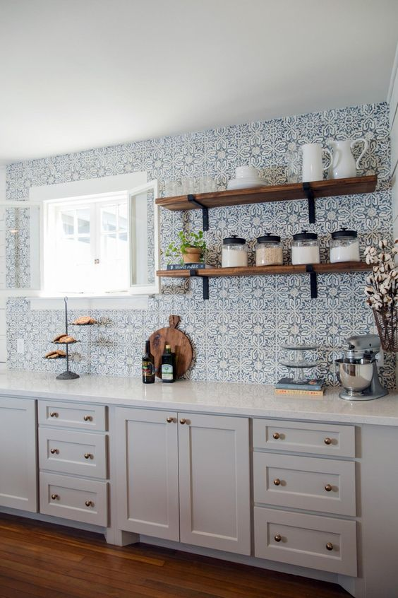 Kuchyne s otvorenými poličkami - Obrázok č. 29