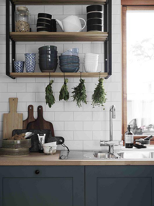 Kuchyne s otvorenými poličkami - Obrázok č. 32