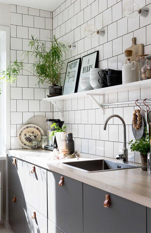 Kuchyne s otvorenými poličkami - Obrázok č. 36