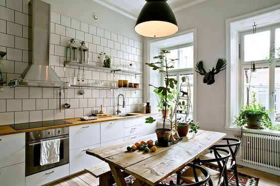Kuchyne s otvorenými poličkami - Obrázok č. 37