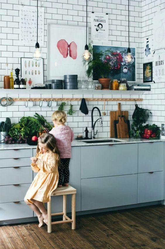 Kuchyne s otvorenými poličkami - Obrázok č. 39