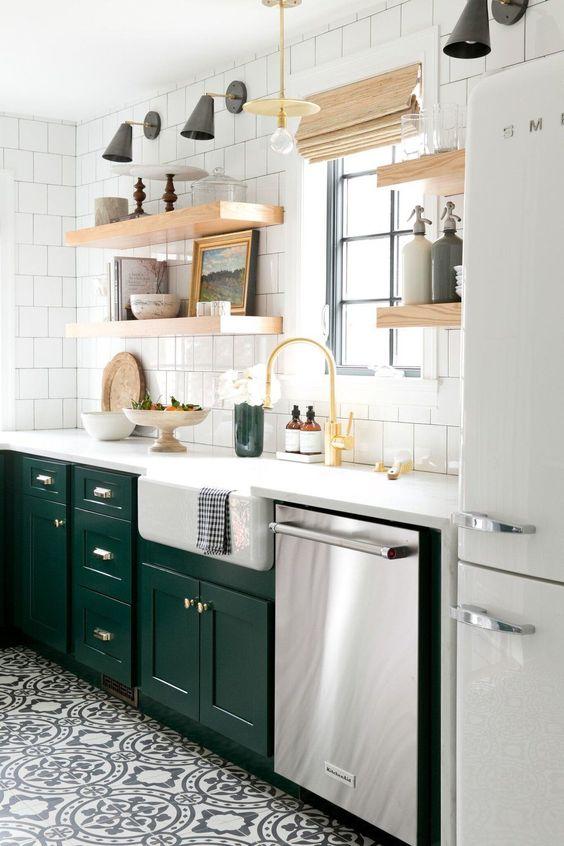 Kuchyne s otvorenými poličkami - Obrázok č. 40