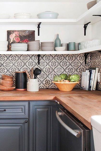 Kuchyne s otvorenými poličkami - Obrázok č. 44