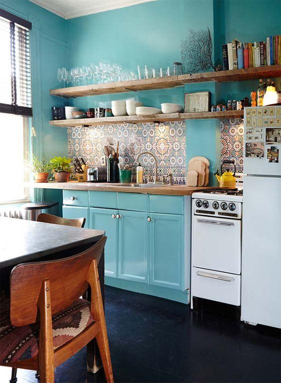 Kuchyne s otvorenými poličkami - Obrázok č. 45