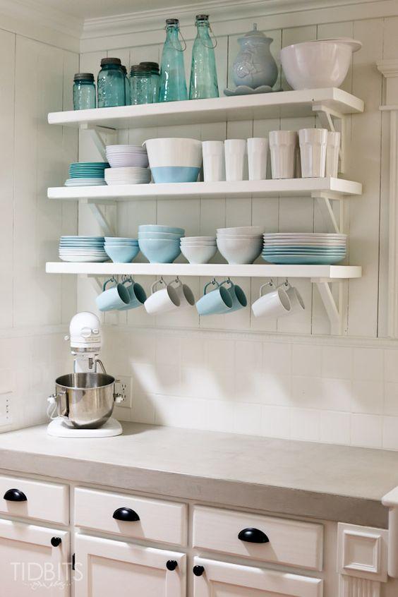 Kuchyne s otvorenými poličkami - Obrázok č. 46