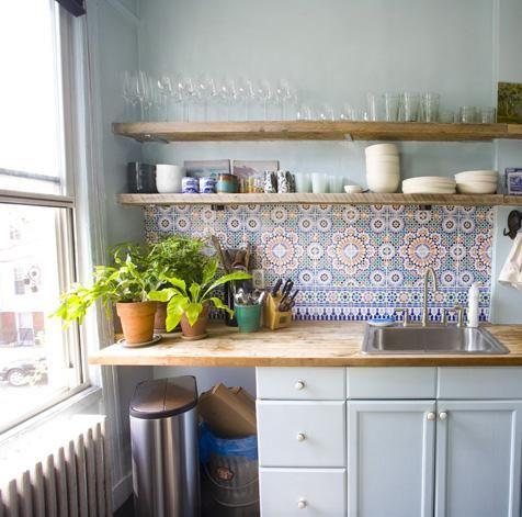 Kuchyne s otvorenými poličkami - Obrázok č. 47