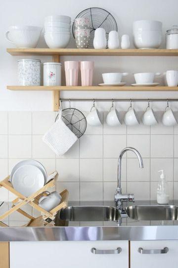 Kuchyne s otvorenými poličkami - Obrázok č. 48