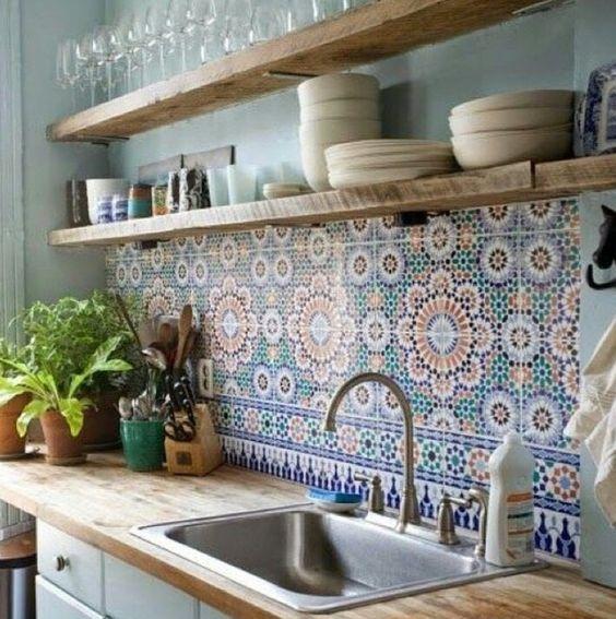 Kuchyne s otvorenými poličkami - Obrázok č. 49