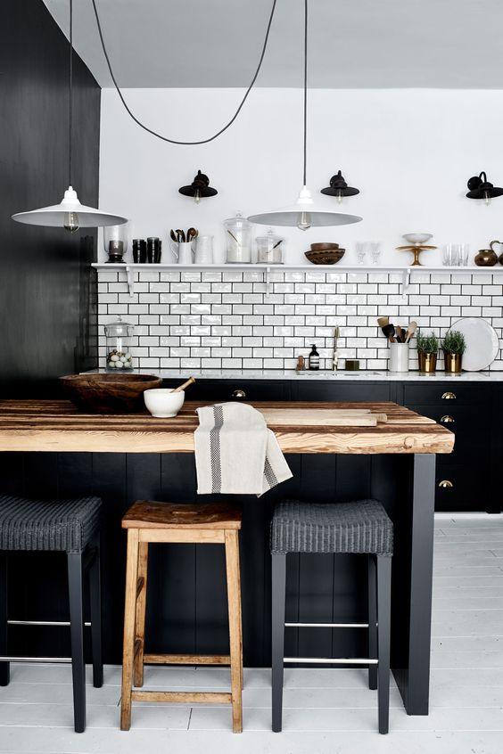 Kuchyne s otvorenými poličkami - Obrázok č. 53