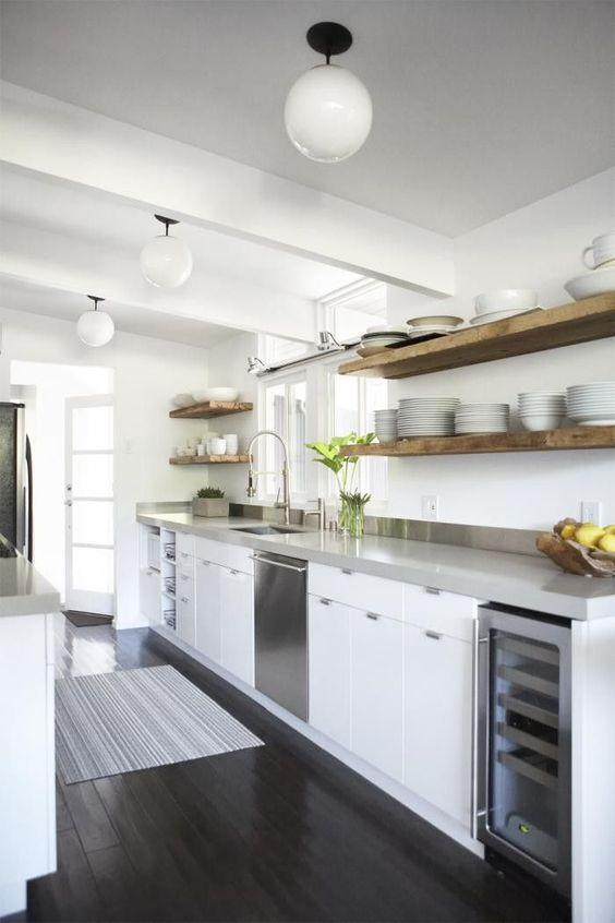 Kuchyne s otvorenými poličkami - Obrázok č. 54