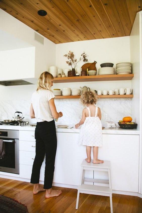 Kuchyne s otvorenými poličkami - Obrázok č. 55