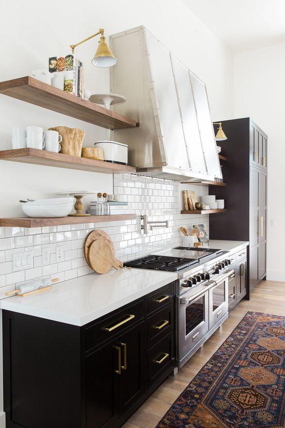Kuchyne s otvorenými poličkami - Obrázok č. 58