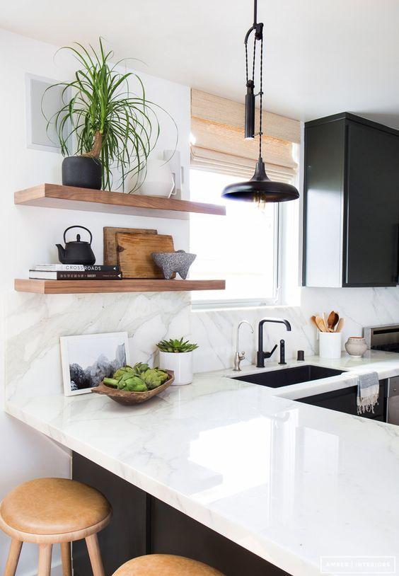 Kuchyne s otvorenými poličkami - Obrázok č. 59