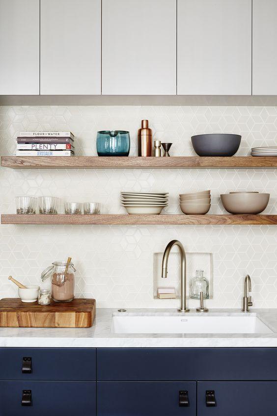 Kuchyne s otvorenými poličkami - Obrázok č. 60