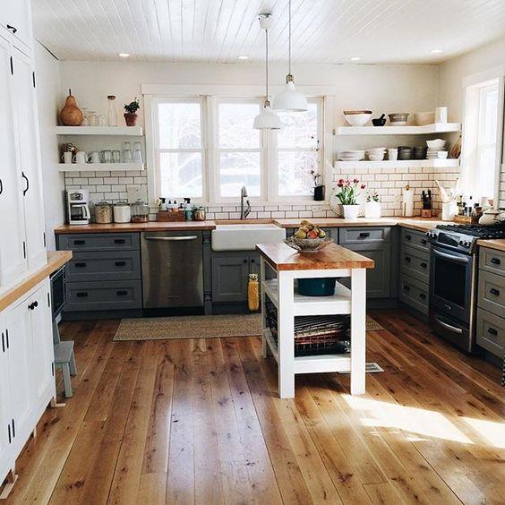 Kuchyne s otvorenými poličkami - Obrázok č. 61