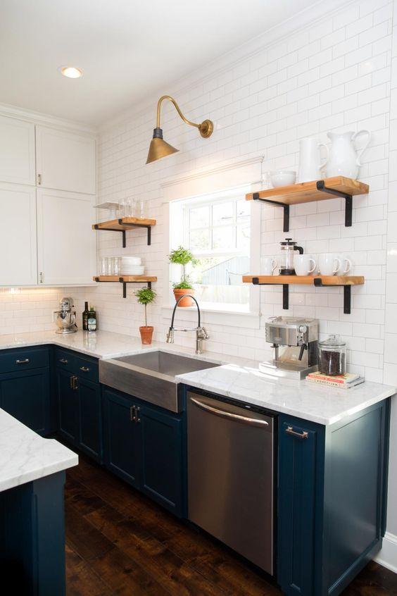 Kuchyne s otvorenými poličkami - Obrázok č. 63