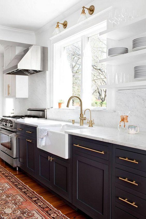 Kuchyne s otvorenými poličkami - Obrázok č. 64