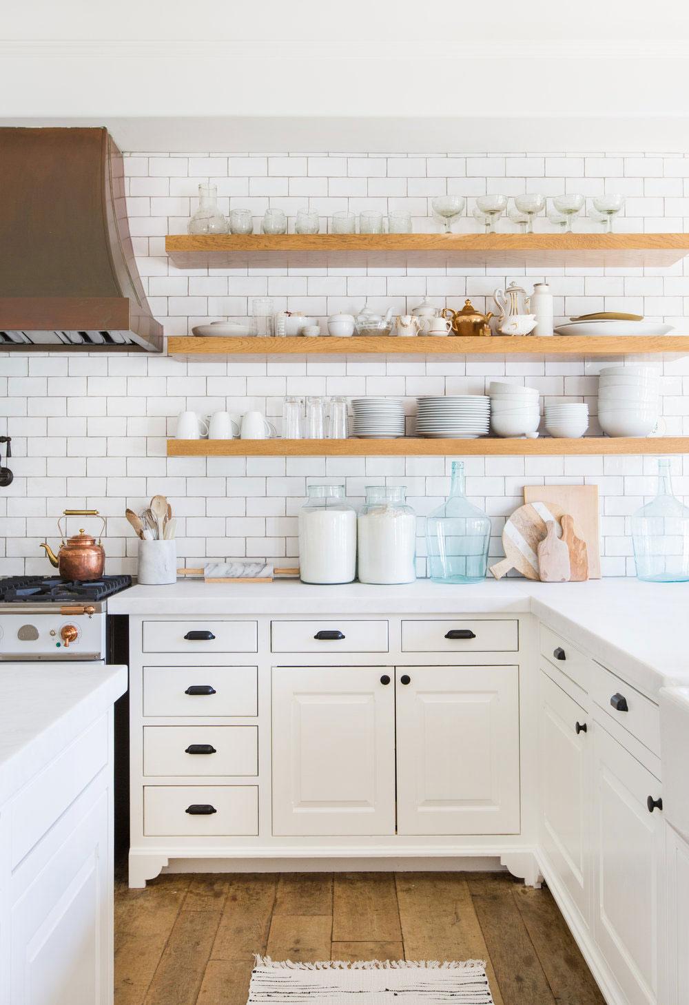 Kuchyne s otvorenými poličkami - Obrázok č. 65