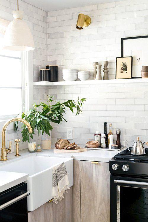 Kuchyne s otvorenými poličkami - Obrázok č. 66