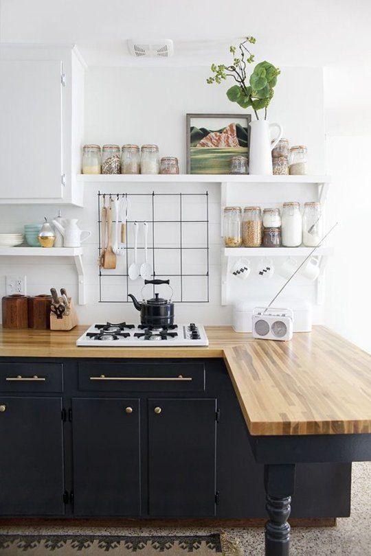 Kuchyne s otvorenými poličkami - Obrázok č. 67