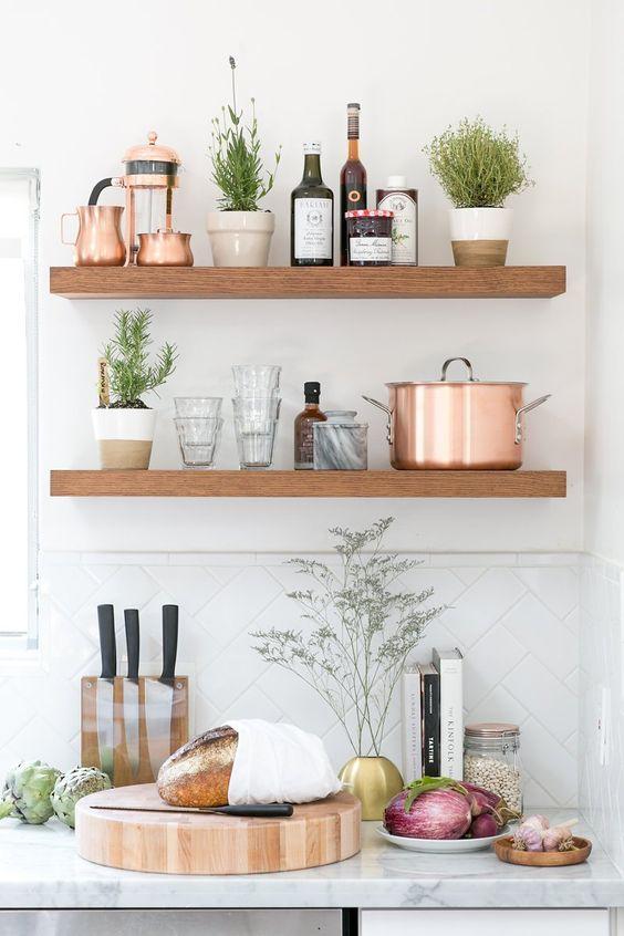 Kuchyne s otvorenými poličkami - Obrázok č. 68