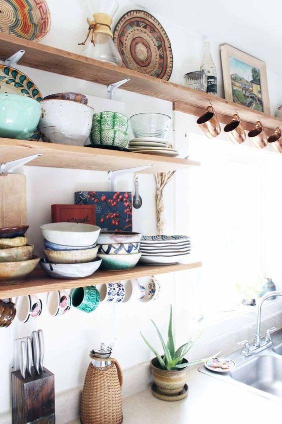 Kuchyne s otvorenými poličkami - Obrázok č. 69