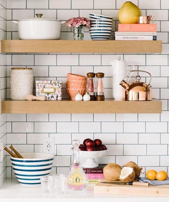 Kuchyne s otvorenými poličkami - Obrázok č. 73