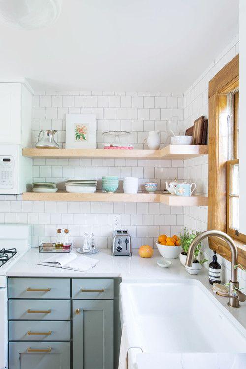Kuchyne s otvorenými poličkami - Obrázok č. 74