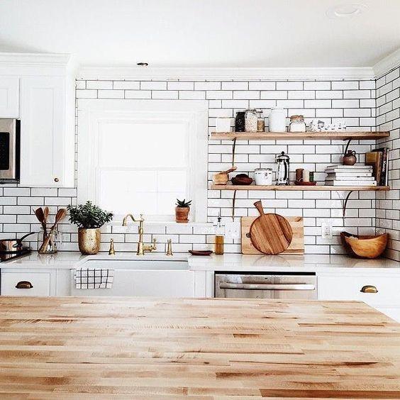 Kuchyne s otvorenými poličkami - Obrázok č. 75