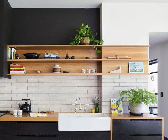 Kuchyne s otvorenými poličkami - Obrázok č. 77
