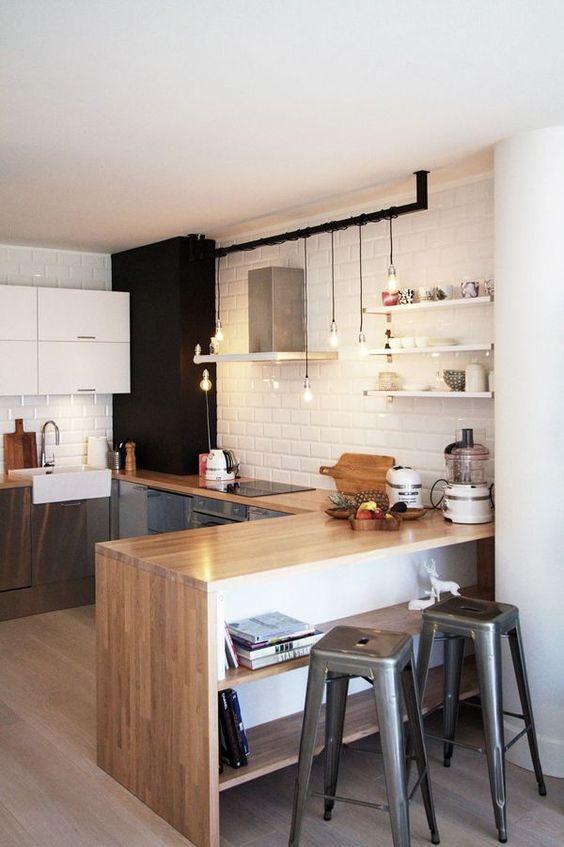 Kuchyne s otvorenými poličkami - Obrázok č. 78