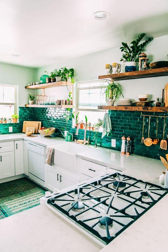 Kuchyne s otvorenými poličkami - Obrázok č. 79