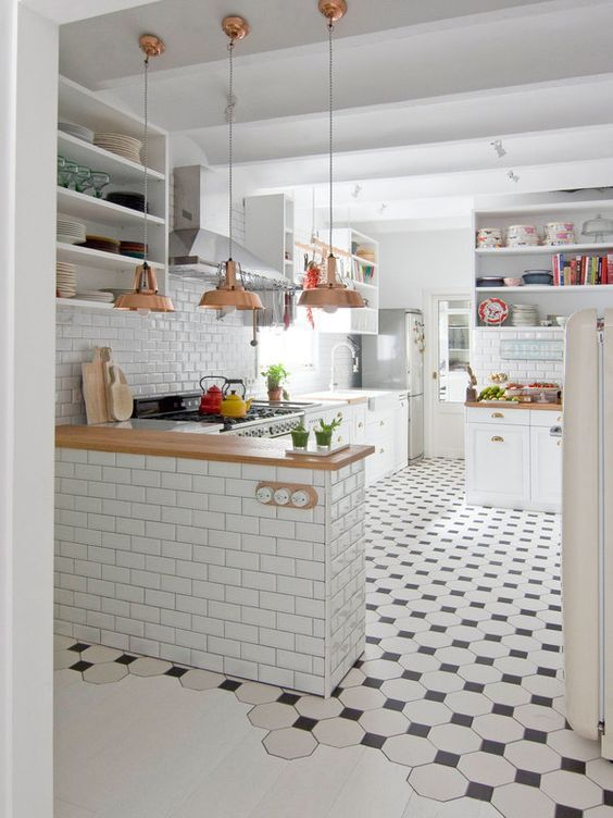 Kuchyne s otvorenými poličkami - Obrázok č. 80