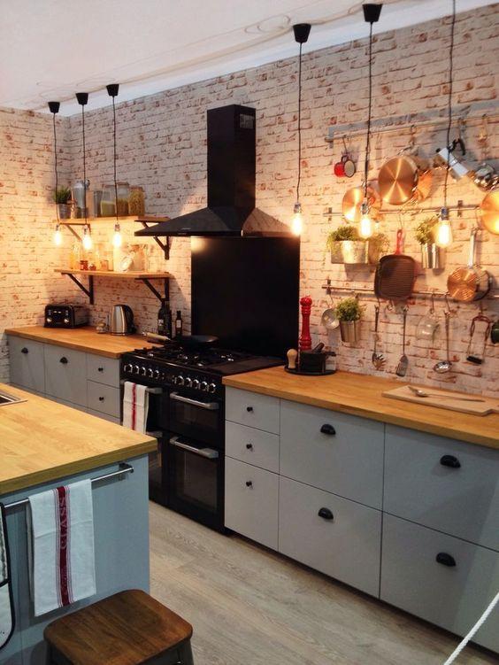 Kuchyne s otvorenými poličkami - Obrázok č. 82