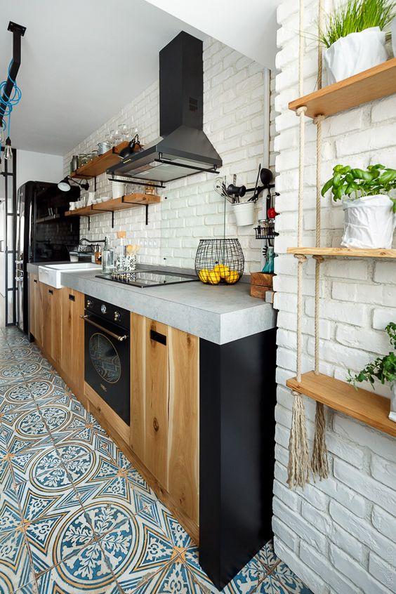 Kuchyne s otvorenými poličkami - Obrázok č. 83