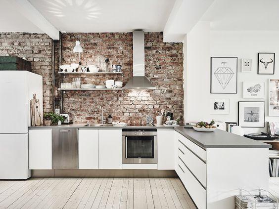 Kuchyne s otvorenými poličkami - Obrázok č. 84