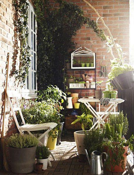 Malý balkón s veľkou atmosférou - inšpirácie - Obrázok č. 7