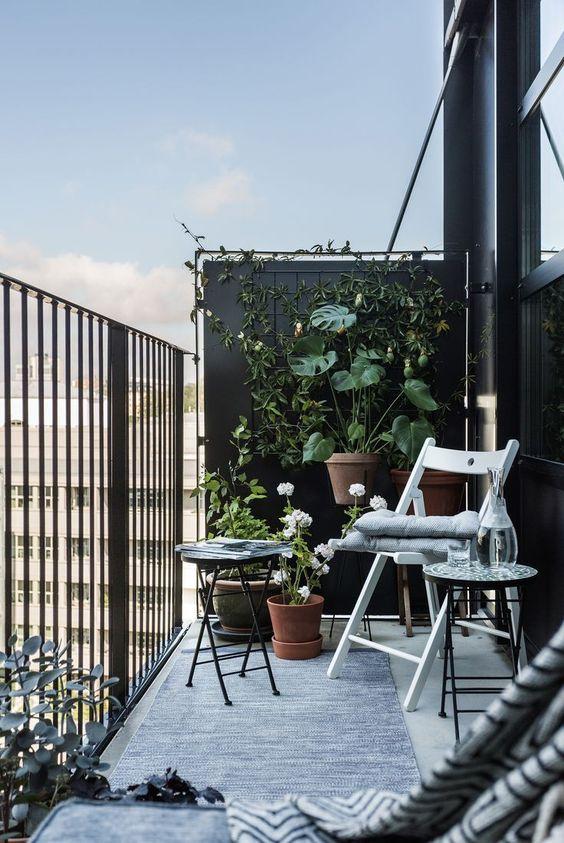 Malý balkón s veľkou atmosférou - inšpirácie - Obrázok č. 8