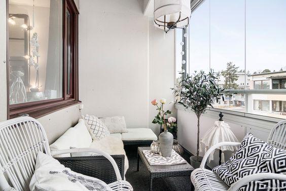 Malý balkón s veľkou atmosférou - inšpirácie - Obrázok č. 14