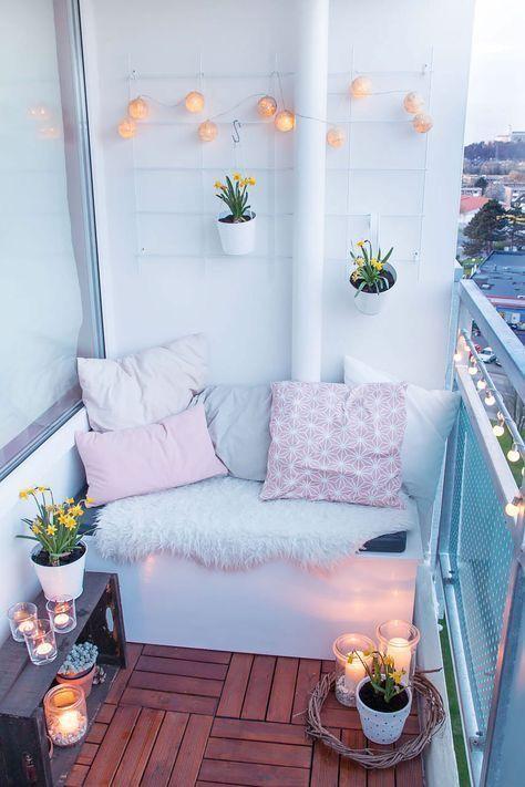 Malý balkón s veľkou atmosférou - inšpirácie - Obrázok č. 15