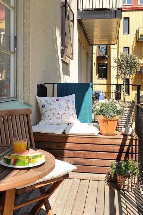 Malý balkón s veľkou atmosférou - inšpirácie - Obrázok č. 18