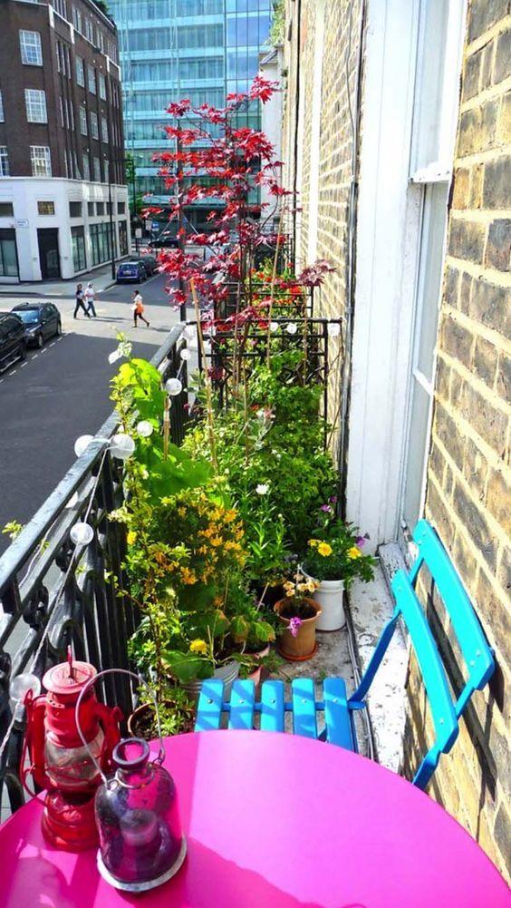 Malý balkón s veľkou atmosférou - inšpirácie - Obrázok č. 20