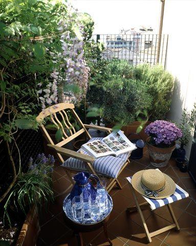 Malý balkón s veľkou atmosférou - inšpirácie - Obrázok č. 21