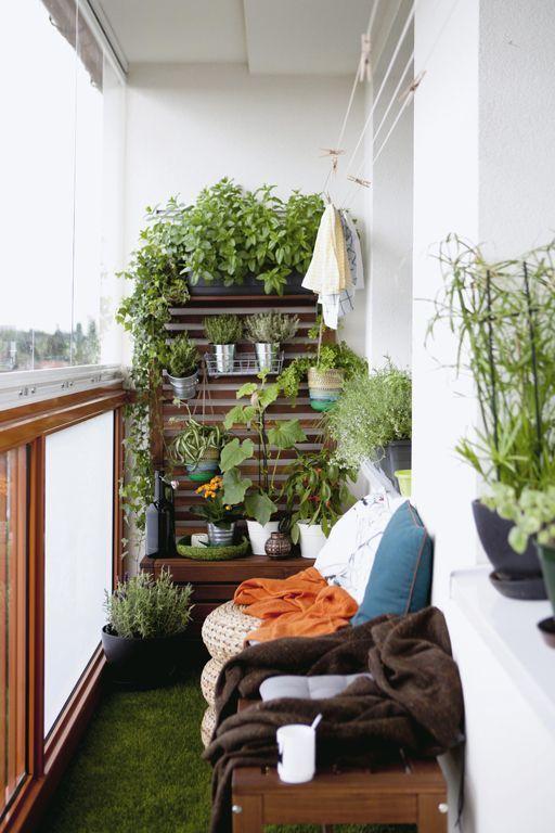 Malý balkón s veľkou atmosférou - inšpirácie - Obrázok č. 25
