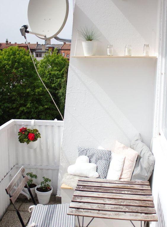 Malý balkón s veľkou atmosférou - inšpirácie - Obrázok č. 26