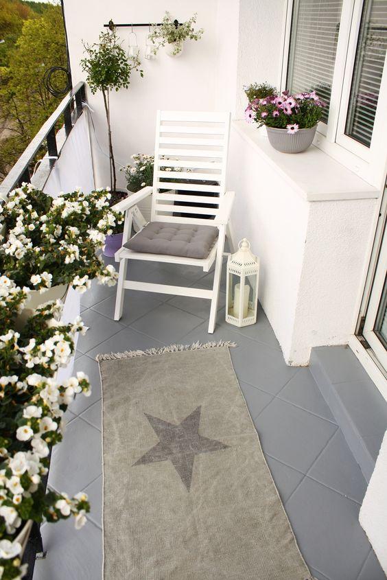 Malý balkón s veľkou atmosférou - inšpirácie - Obrázok č. 33
