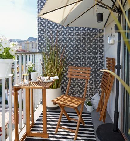 Malý balkón s veľkou atmosférou - inšpirácie - Obrázok č. 34