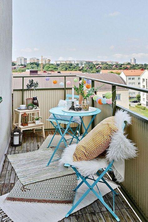 Malý balkón s veľkou atmosférou - inšpirácie - Obrázok č. 39