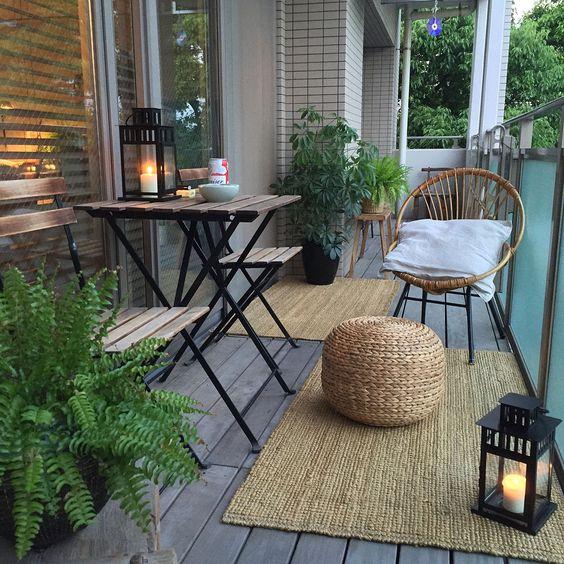 Malý balkón s veľkou atmosférou - inšpirácie - Obrázok č. 40